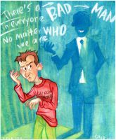 There's A Bad Man In Everyone by Oly-RRR