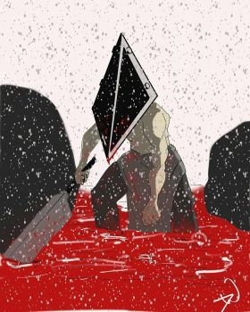 Silent Hill Pyramid Head by djackwagner