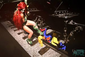 Liberty Belle vs. Poison Ivy by Reign-Cosplay
