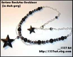 EnviousRockstarNecklace ingrey by 1337-Art