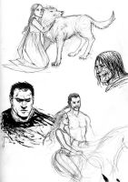 ASoIaF sketch dump 4 by Pojypojy