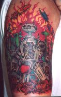 robots tattoo by ShannonRitchie