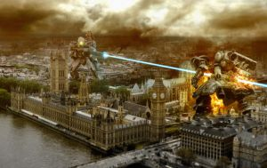 London Skirmish by drksde