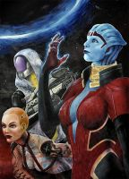 Mass effect 2: Femmes fatales by Uzlo