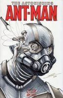 Ant-man original sketch-- by Sandoval-Art