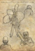 Resident doodles by mala666italy