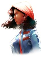 America Chavez by Afterlaughs