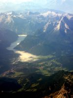 View from the plane: :2 by Ilharess
