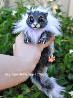 Frosted newborn dragon spirit by LisaToms