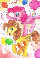 Super duper party ponies by Nandalace