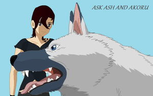 Ask Ash and Akoru by KarateCat211