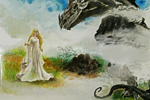 Nienor and Glaurung by The-girl-in-Mirkwood