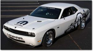 The Awesome Mopar Challenger Drag Car by cambot6000