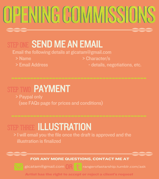 ART COMMISSIONS ARE OPEN by rhieme