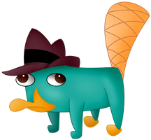 Perry the Platypus by Dianlie
