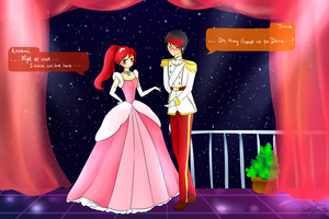 Cinderella at the ball: Tsuna And Kasami V2 by Eeveelutions95