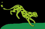 green cheetah by king-ocelot-claws