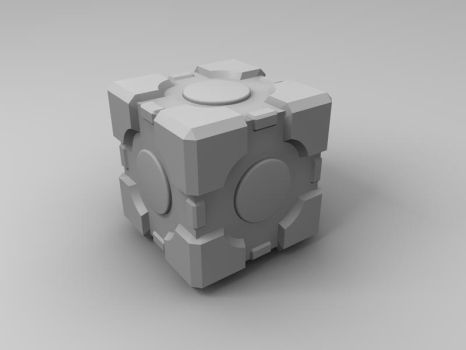 Portal Cube by PastAC