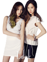 Seohyun y Kristal PNG [Render] by GAJMEditions