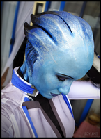 Deep Blue - Mass Effect Liara Cosplay by Soylent-cosplay