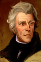 Andrew Jackson Speed Paint by DJCoulz