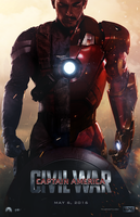 Captain America: Civil War Movie Poster by AncoraDesign