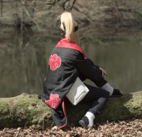 Deidara - Thinking II by BouSaitou1995