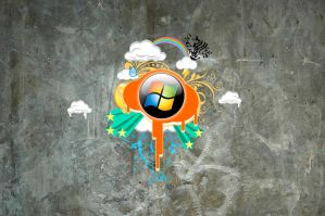 Wallpaper Windows Urbana by CaHilART