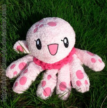 Clara the jellyfish Plush by The-Cute-Storm