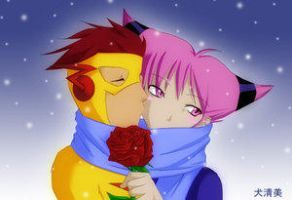 Winter Rose..k-chan by JinxXKidFlash-Club