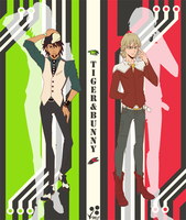 Fan Art- Tiger and Bunny by Linkakami