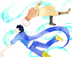 Do the airbender thing. by SXAE