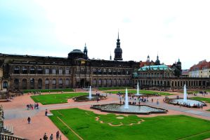 Zwinger, the old master's gallery by TheNimster