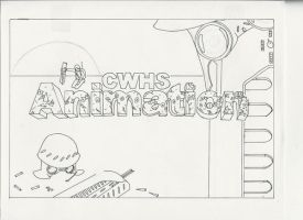 WOTS  school animation logo by kasigawa