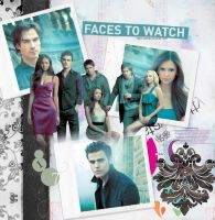 The Vampire Diaries Cast by hellotherelily