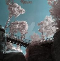 The IR Bridge by wreck-photography