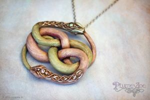 Cosmic Twinflame AURYN by Plumevine