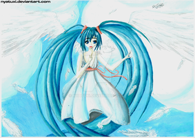 VOCALOID 2 Hatsune Miku - Angel by Nyatuxi