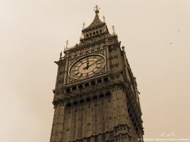 Big Ben in the old days 2 by NightMeadow
