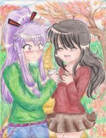Gakupo and Prima's Date by shayleewolf