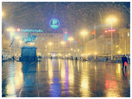 Snow Blizzard in Zagreb by OrangeBoyDesign