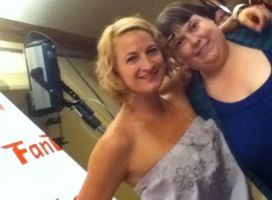 Actress Zoe Bell at the premiere of Raze by AnaInTheStars