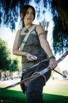 Lara croft by fiery-dragon