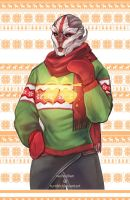 ME Christmas Sweaters - Nyreen by Weissidian
