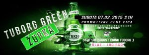 Tuborg Green Cover for Event by Ico147
