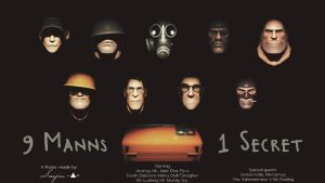 9 Manns and 1 Secret by suijingames