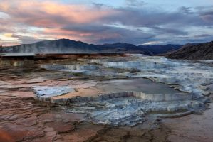 travertine terraces by ariseandrejoice