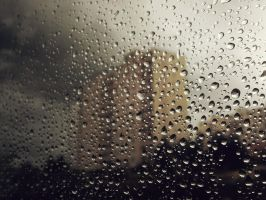 Hidden behind drops by Taychimono
