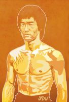 Bruce Lee hard as by JDU1