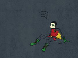 klammed's Robin - Colored by centric-prometheus